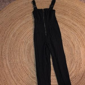 Forever 21 pin stripe jumpsuit
